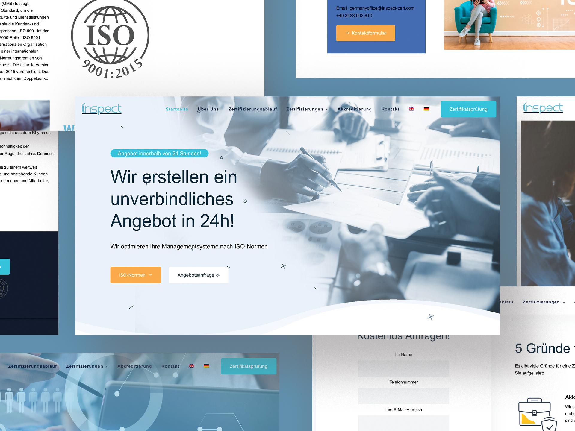 INSPECT Webdesign